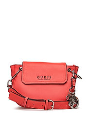 ALLY CROSSBODY FLAP - CORAL