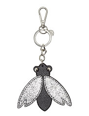 ARSITY POP BEE KEY CHAIN - SILVER MULTI