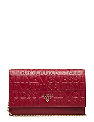 KRYSTAL TRAVEL WALLET - RED MULTI