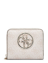 Bluebelle Slg Small Zip Around Bags Card Holders & Wallets Wallets Rosa GUESS