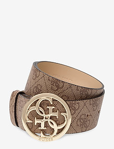 KATHRYN ADJUSTABLE BELT - BROWN
