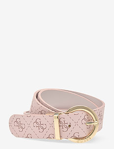 CAMY NOT ADJUSTABLE PANT BELT - ceintures - blush multi