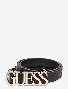 NOELLE ADJUSTABLE PANT BELT - belts - black