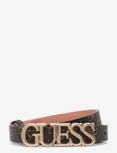 NAYA ADJUSTABLE PANT BELT - ceintures - brown