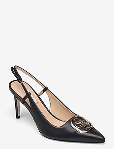 ALENY/SANDALO (SANDAL)/LEATHER - slingbacks - black