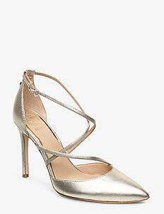 CLAUDIE/DECOLLETE (PUMP)/LEATH - GOLD