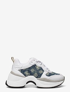 JENNEA/ACTIVE LADY/LEATHER LIK - chunky sneakers - white