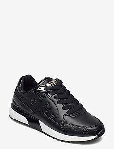 MOXEA2/ACTIVE LADY/LEATHER LIK - låga sneakers - black