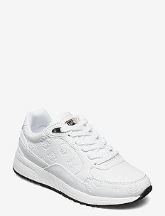 MOXEA2/ACTIVE LADY/LEATHER LIK - låga sneakers - white
