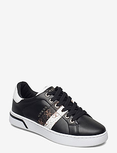 REEL/ACTIVE LADY/LEATHER LIKE - lave sneakers - blkbl