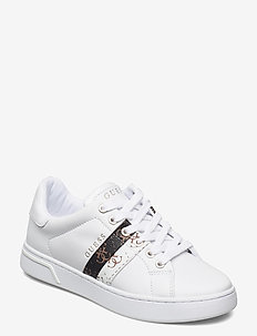 REEL/ACTIVE LADY/LEATHER LIKE - lave sneakers - whiwh