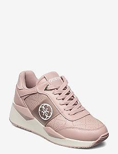 TESHA/ACTIVE LADY/LEATHER LIKE - höga sneakers - blush