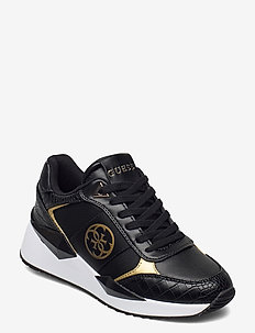 TESHA/ACTIVE LADY/LEATHER LIKE - lave sneakers - blkgo
