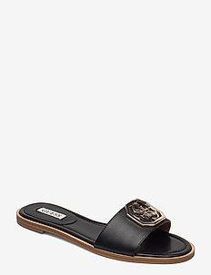 BOTALI/SANDALO (SANDAL)/LEATHE - flade sandaler - black