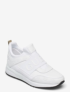 MAYGIN/ACTIVE LADY/LEATHER LIK - låga sneakers - white
