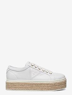 PROPERT/ACTIVE LADY/FABRIC - låga sneakers - white