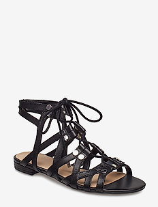 RAMONDA/SANDALO (SANDAL)/LEATH - BLACK