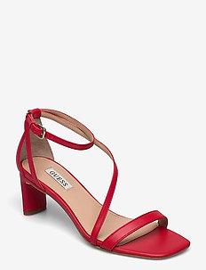 SELBY2/SANDALO (SANDAL)/LEATHE - sandalen met hak - red