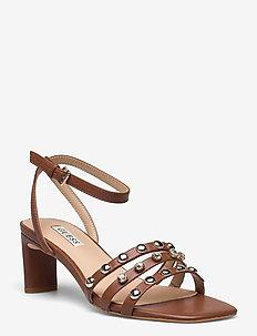 SELENE2/SANDALO (SANDAL)/LEATH - högklackade sandaler - cogna