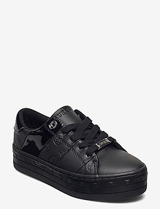 BUSTIN/ACTIVE LADY/LEATHER LIK - baskets basses - black