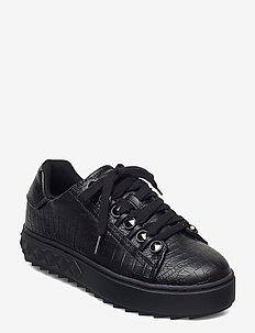 FAIREST/ACTIVE LADY/LEATHER LI - baskets basses - black