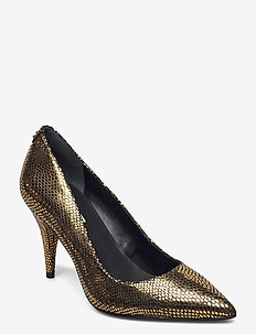 RAJANI/DECOLLETE (PUMP)/LEATHE - classic pumps - bronze