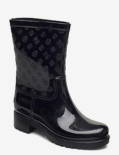 RIBBA - bottes de pluie - black