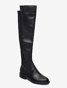 RANIELA2/STIVALE (BOOT)/LEATHE - lange laarzen - black