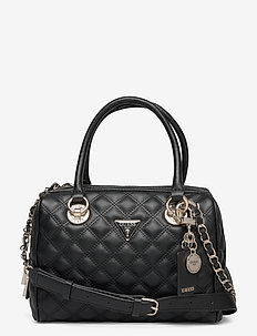 CESSILY BOX SATCHEL - handväskor - black