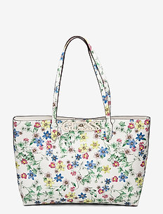 UPTOWN CHIC BARCELONA TOTE - casual shoppers - floral