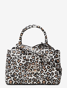 EMILIA STATUS SATCHEL - handbags - leopard