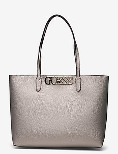 UPTOWN CHIC BARCELONA TOTE - fashion shoppers - pewter