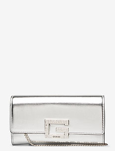 DAZZLE CLUTCH - clutches - silver