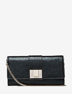NIGHT TWIST CLUTCH - kuvertväskor - black