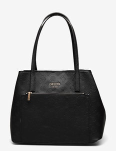 VIKKY ROO TOTE - handbags - black