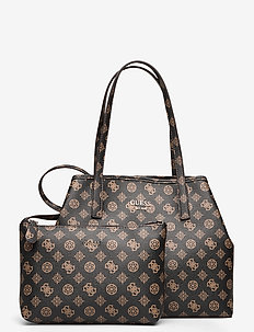VIKKY TOTE - BROWN