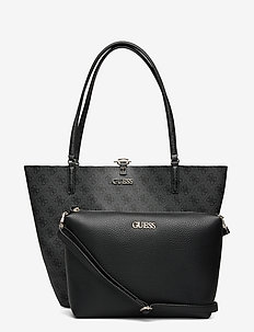 ALBY TOGGLE TOTE - shoppers - coal/black