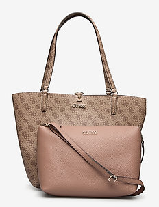 ALBY TOGGLE TOTE - shoppers - latte/taupe
