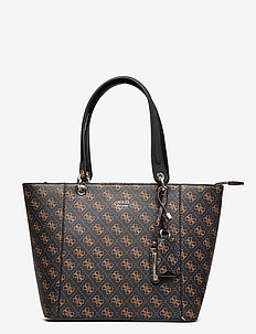KAMRYN TOTE - fashion shoppers - brown multi