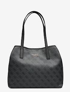 VIKKY TOTE - fashion shoppers - coal