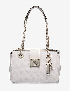 LOGO CITY SML SOCIETY SATCHEL - MOONSTONE