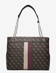 KATEY GIRLFRIEND CARRYALL - shoppere - brown multi