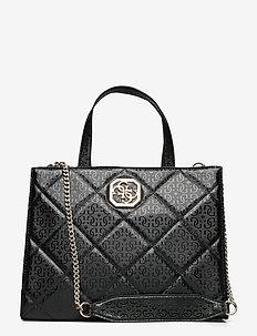 DILLA ELITE SOCIETY SATCHEL - handväskor - black