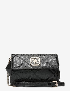 DILLA CNVRTBLE XBODY BELT BAG - crossbody bags - black