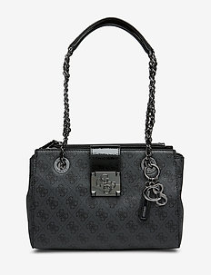 LOGO CITY SML SOCIETY SATCHEL - COAL
