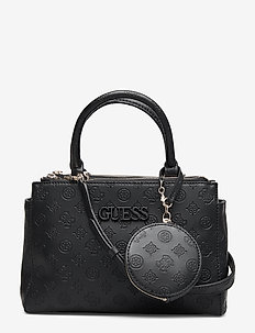 JANELLE SMALL STATUS SATCHEL - BLACK