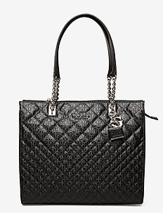 QUEENIE TOTE - fashion shoppers - black