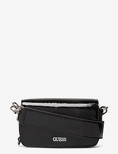 PICNIC MINI SHOULDER BAG - axelremsväskor - black
