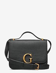 CORILY CONVERTIBLE XBODY FLAP - handväskor - black