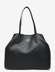 VIKKY LARGE TOTE - BLACK